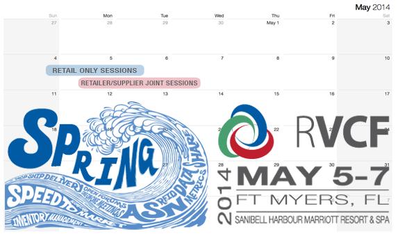 RVCF Spring Conference Calendar