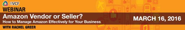 Amazon Vendor or Seller? Webinar
