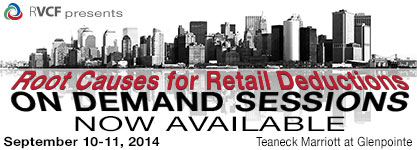 On Demand Root Causes for Retail Deductions Sessions
