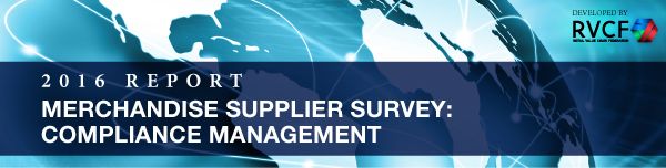 Merchandise Supplier Survey: Compliance Management