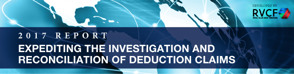 Expediting the Investigation and Reconciliation of Deduction Claims