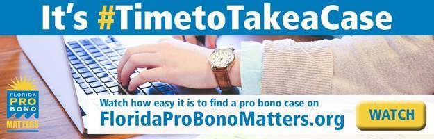 Florida Bar Pro Bono Cases - Sarasota County Bar Association