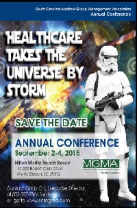 SCMGMA 2015 Annual Conference Group Registration 2-5 people