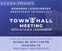 Town Hall Meeting with S.C.A.N.A. Leadership - Greenville