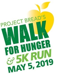 Project Bread's Walk for Hunger - TEAM SNA OF MASS.
