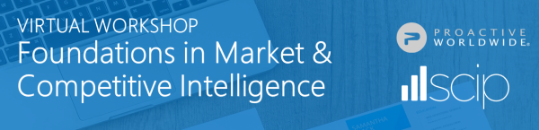 Foundations in Market & Competitive Intelligence