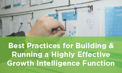 Best Practices for Building & Running a Highly Effective Growth Intelligence Function