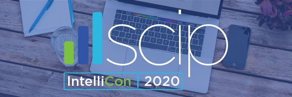 SCIP Virtual IntelliCon 2020 email banner
