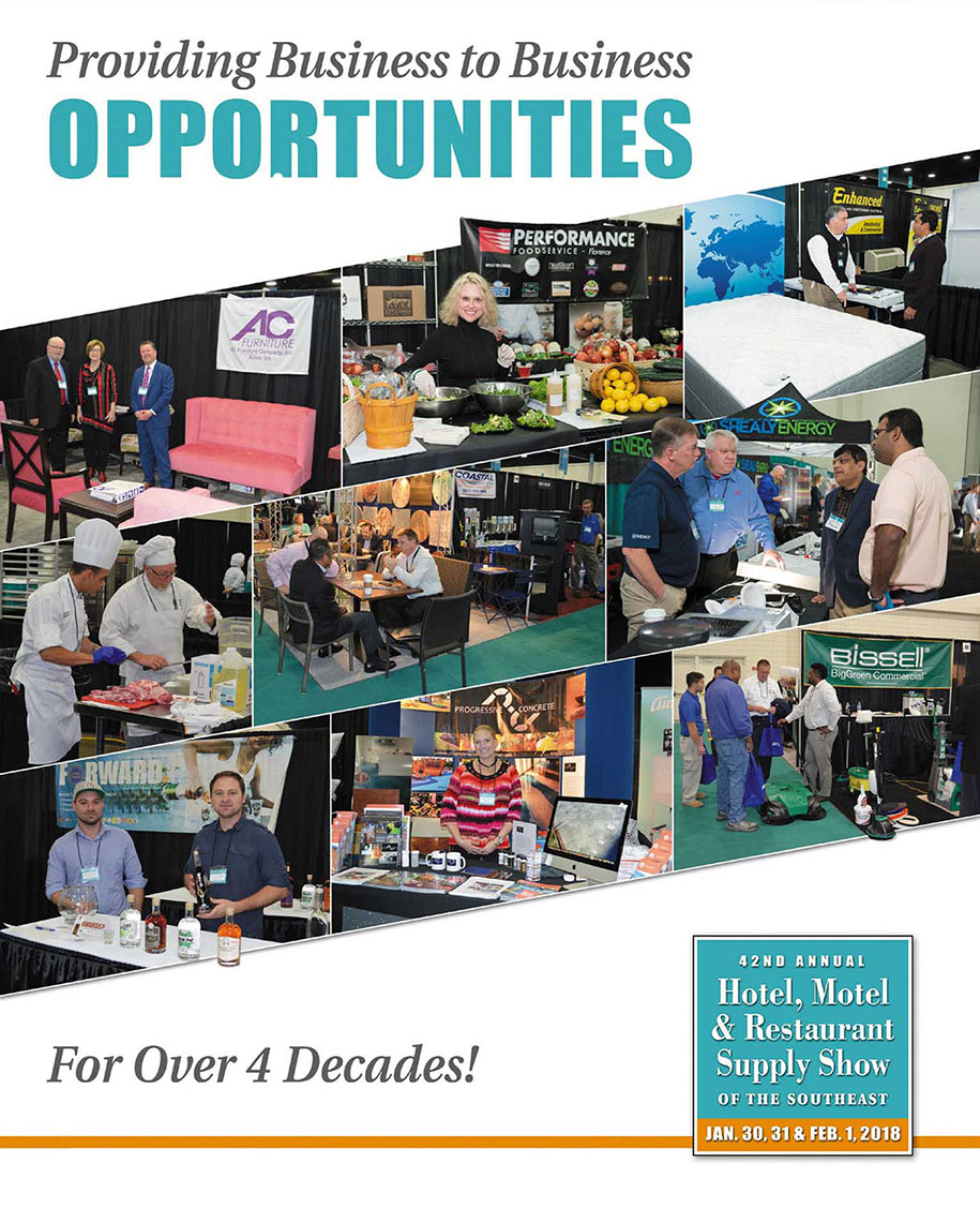 Hotel, Motel, & Restaurant Supply Show of the Southeast - South