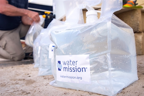 Hurricane Dorian Response 2019 - photo courtesy of Water Mission