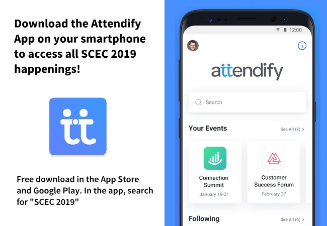 Download the Attendify app