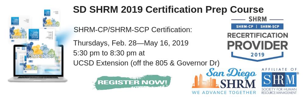 San Diego Society for Human Resource Management (San Diego SHRM)