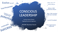 Business Forum Presents - Above and Below the Line: A Framework for Cultivating Conscious Leadership