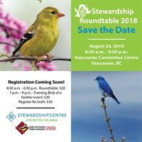 Stewardship Roundtable 2018 - A forum and showcase of innovative practices for conservation