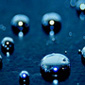 mercury droplets