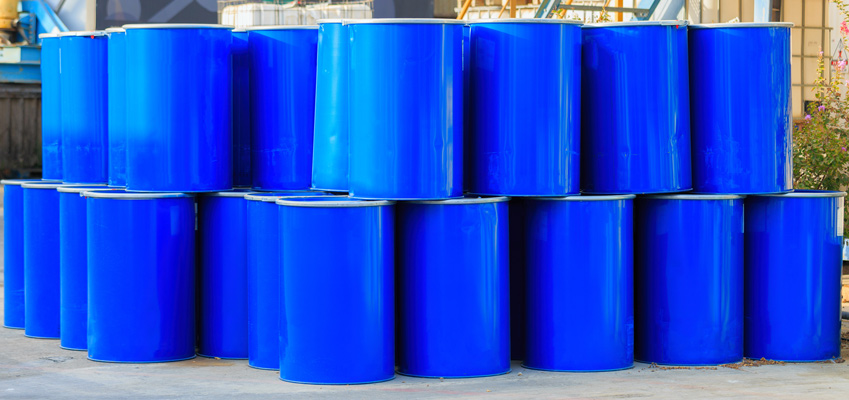 barrels for chemicals