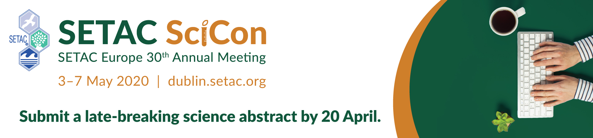 SETAC Dublin late-breaking science abstract submission