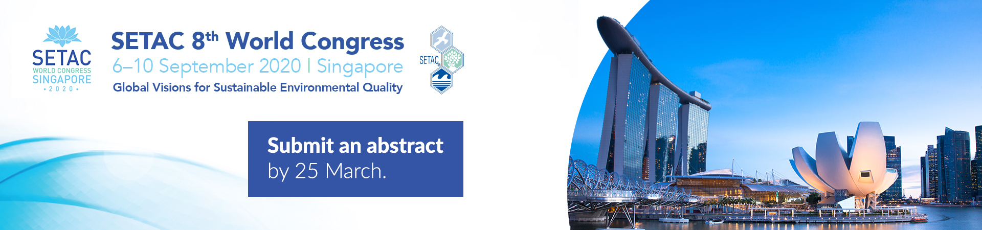 Submit an abstract for the SETAC 8th World Congress
