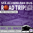 Basketball Fan Bus - SFA vs. Baylor