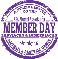 SFA Alumni Member Day at the SFA Ballpark 2018