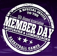 SFA Alumni Member Day at SFA Basketball