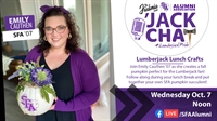 'Jack Chat Series - Lumberjack Lunch Crafts - Pumpkin Succulent