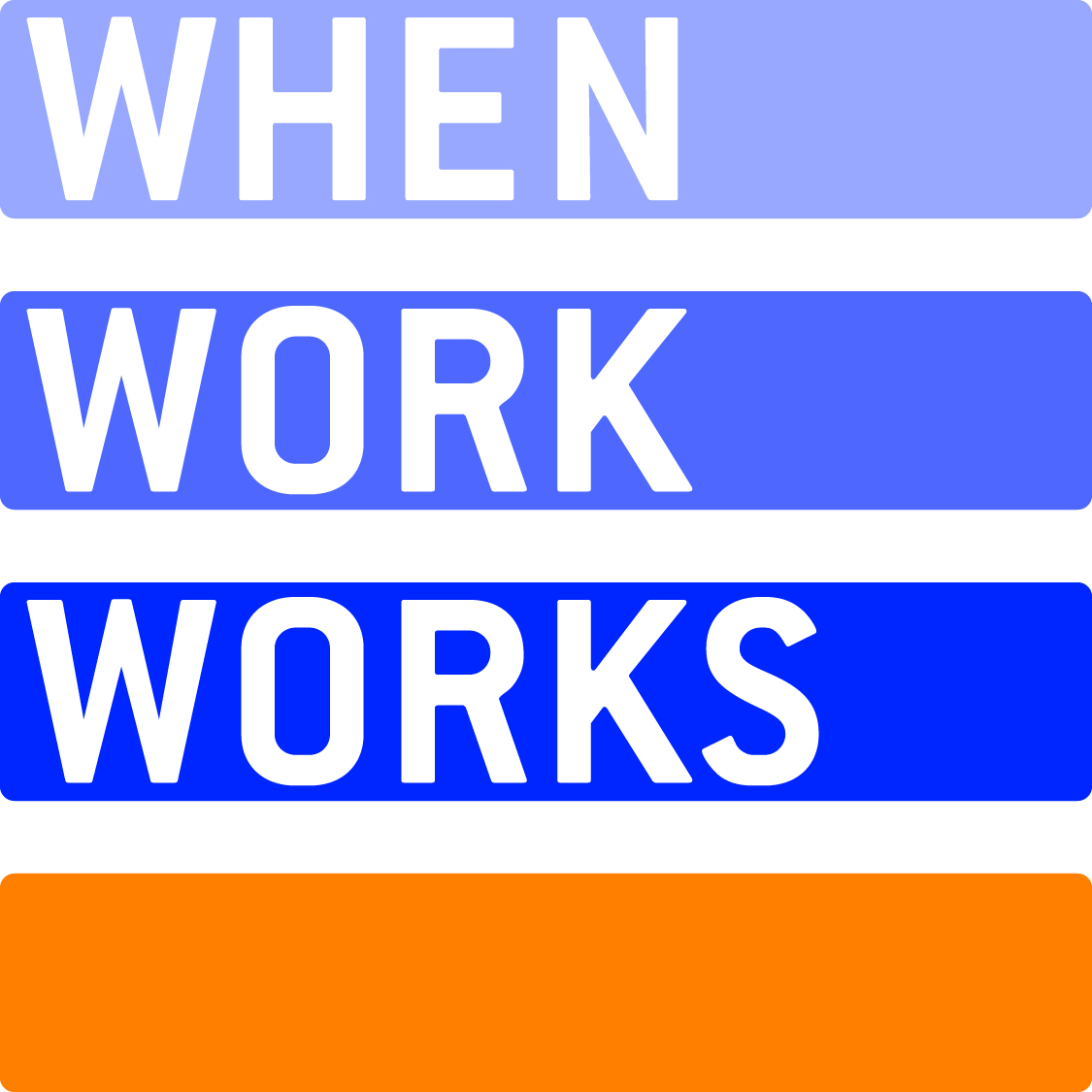 shrm kc when work works is a nationwide initiative that brings research on workplace effectiveness and flexibility into community and business practice