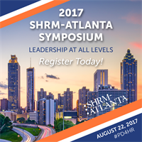 2017 SHRM-Atlanta Symposium Sponsorship Opportunities