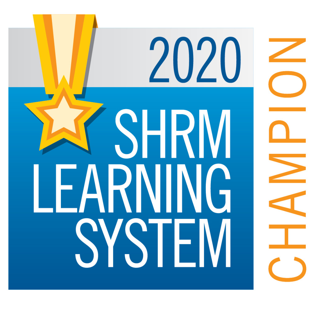 2020 SHRM Learning System Champion