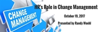 HR's Role in Change Management