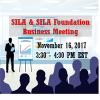SILA and SILA Foundation Business Meeting Webinar