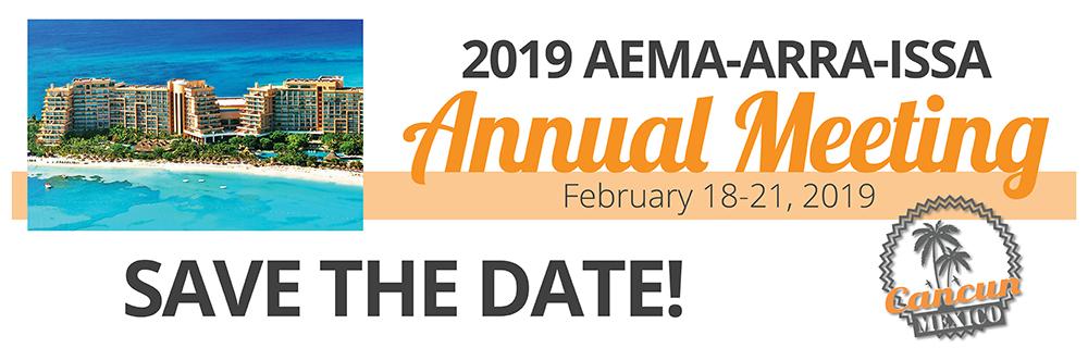 """Résultat de recherche d'images pour """"aeMA-ARRA - ISSA annual meeting CANCUN 2019"""""""
