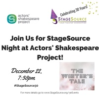 StageSource Night at Actors' Shakespeare Project