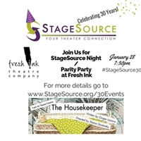 StageSource Night/Parity Party THE HOUSEKEEPER with Fresh Ink Theatre