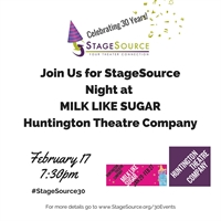 StageSource Night at Huntington Theatre Company's Milk Like Sugar