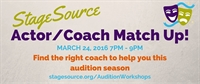 StageSource Actor/Coach Match Up!