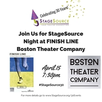StageSource Night at FINISH LINE - Boston Theater Company