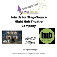StageSource Night at Hub Theatre Company's ART