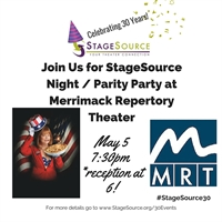 StageSource Night/Parity Party at Merrimack Repertory Theatre's HOME OF THE BRAVE
