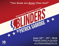 StageSource Night at Flat Earth Theatre for BLINDERS