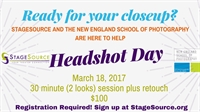 Headshot Days - StageSource and the New England School of Photography