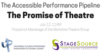 The Accessible Performance Pipeline: The Promise of Theatre