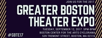 Greater Boston Theater Expo 2017 - Attendee RSVP