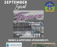 Young Lawyers Happy Hour Social at FRESCO'S Waterfront Bistro