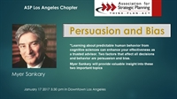 ASP Los Angeles Meeting: Persuasion and Bias