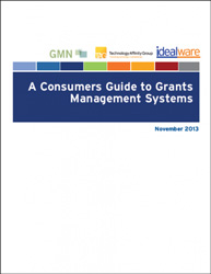 Consumers Guide to Grants Management Systems