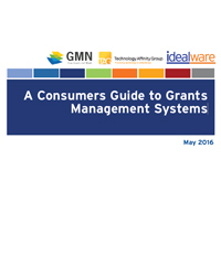 2016 Consumers Guide to Grants Management Systems
