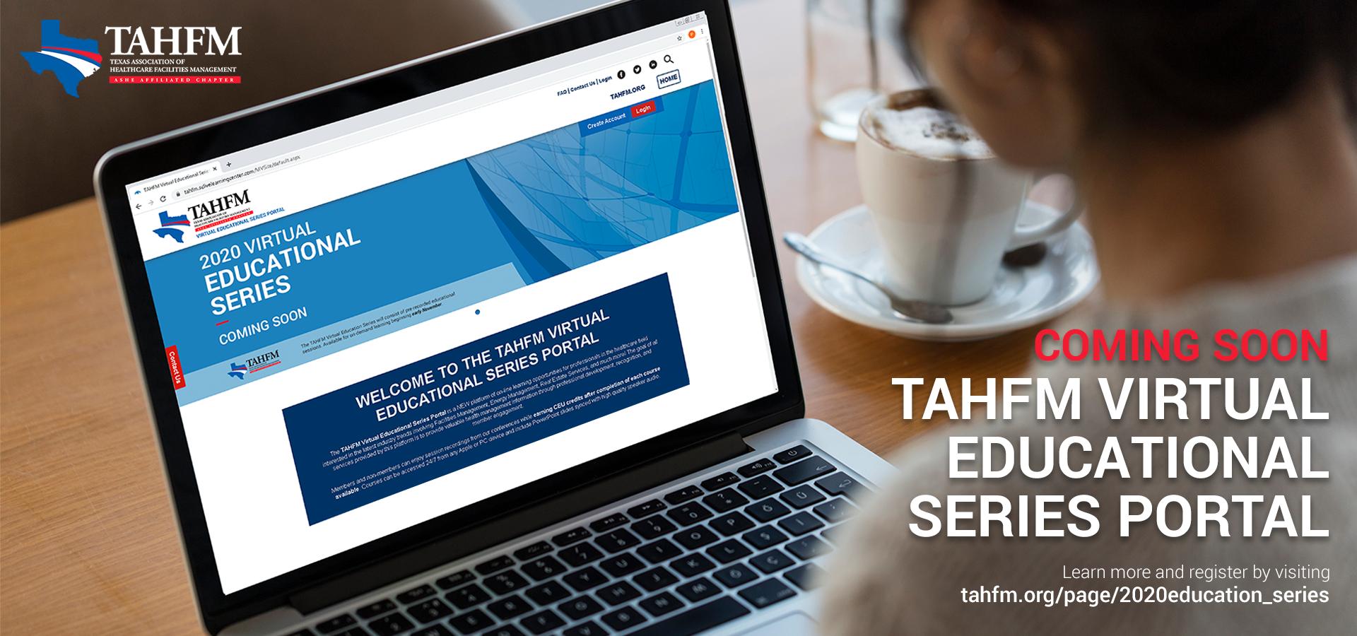 2020 TAHFM Virtual Educational Series banner graphic