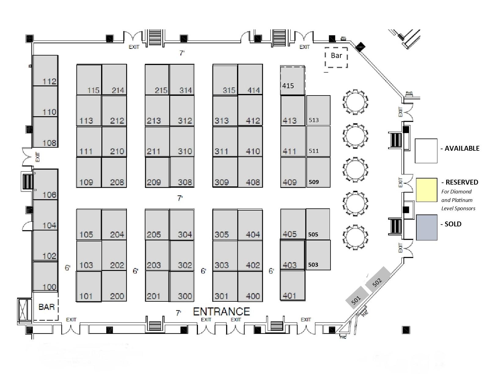 Interlink 2019 floorplan