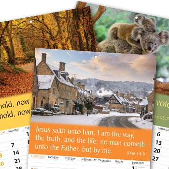Picture of Words of Life Calendars